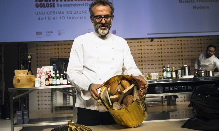 "This photo of Massimo Bottura is now a ""classic�"