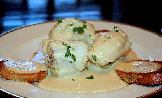 Un piatto di bourride, zuppa di pesce tipica della