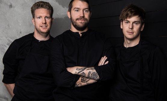 Peter Andersson, Johan Bengtsson e Fredrik Johnsson
