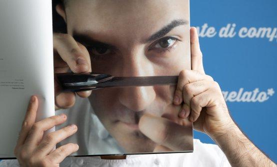 Fabrizio Fiorani, gran pastry chef italiano, scher