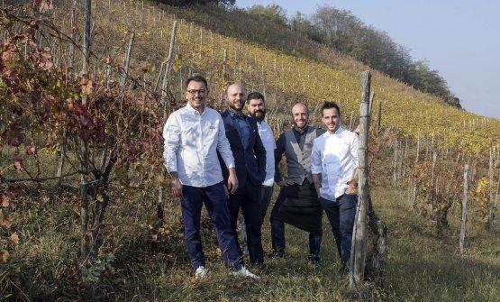 Federico Sgorbini, Marco Calatroni,Mauro Enoch,Thomas DottaeMarsilio Ramo
