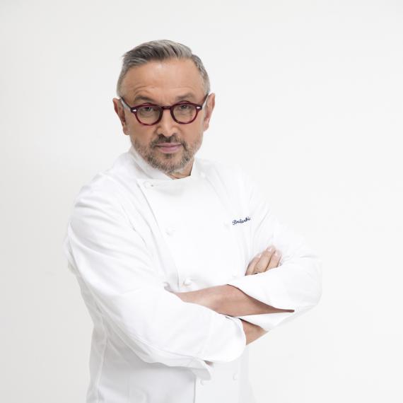 Bruno Barbieri nella foto diAlex Alberton