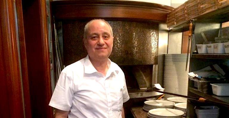 Bruno De Rosa. La sua pizzeria è anche inserita in Where to Eat Pizza, la guida delle migliori pizzerie del mondo curata da Daniel Young, che sarà presentata martedì 7 giugno, alle 15,30, a Milano (leggi qui)