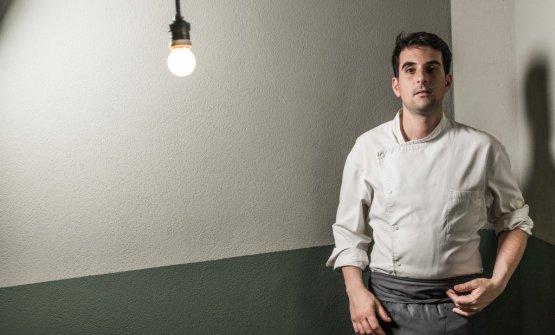 Antonio Ziantoni, trentadue anni, da qualche mese ha aperto a Roma il suo Zia Restaurant