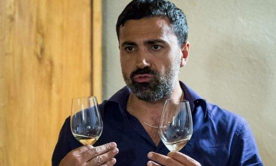 Il direttore ed enologo Antonio Paolo Froio