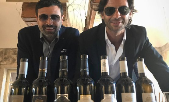 Antonio Paolo Froio insieme a Francesco Zonin