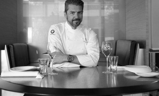 Andrea Berton, chef e patron dlel'omonimo ristorante milanese