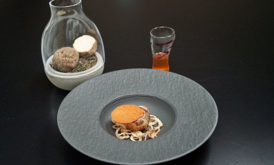 Zuppa di cipolle e tartufo di Belper: il piatto