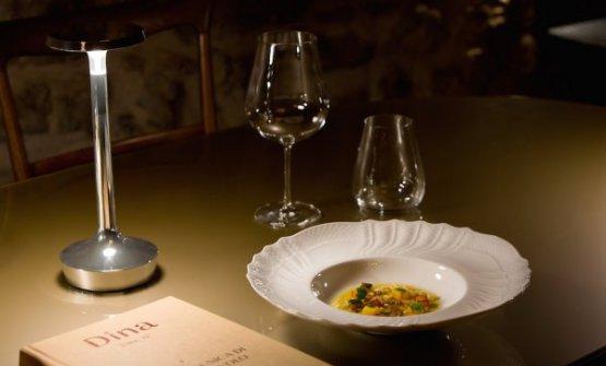 La Minestrina sporcadiAlberto Gipponi, chef del ristoranteDinadi Gussago (Brescia), sopresa dell'anno per la Guida di Identità Golose 2019(foto diChiara Cadeddu)
