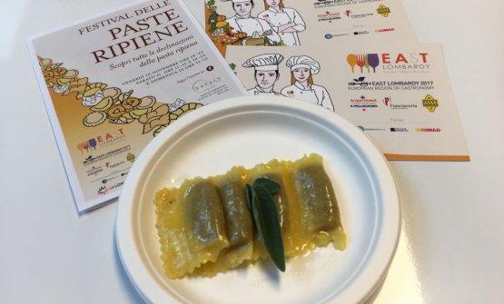 Vanni BotturaeMarzia Gandellini-pastificio Genuitaly, Bigarello (Mantova): Tortelli di zucca