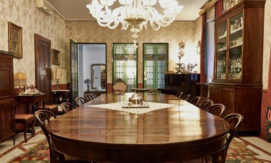 Il grande tavolo conviviale di Altopalato