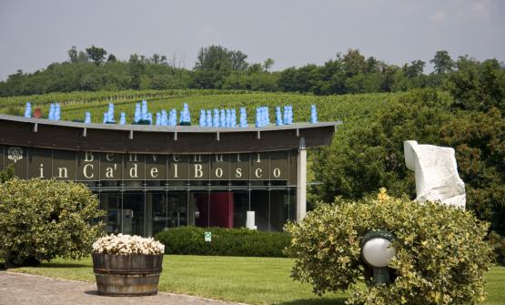 La sede di Ca' del Bosco in Franciacorta