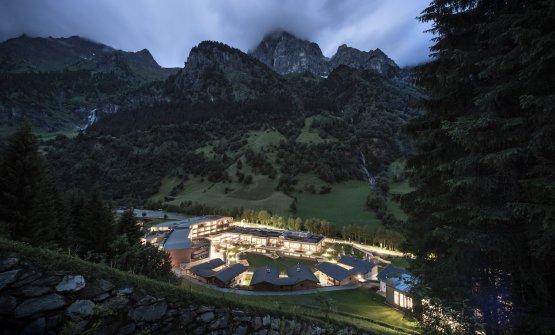 L'hotel immerso nella Val di Fleres. FotoAlex Filz