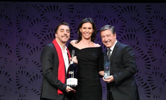 Camilla Lunelli premia Jordi e Joan Roca