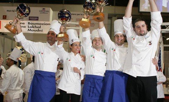 «Anno 2008:sono la prima donna a vincere il titolo di Campione del mondo di gelatocon il team Italiano alSigep. Ho preparato e bilanciato tutte le ricette che una giuria di fama internazionale ha decretato le migliori del mondo»