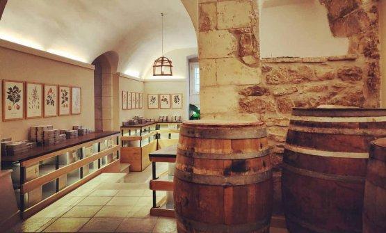 La cantina di affinamento: è l'unico luogo dove si trovano gli Affinati e si trova in corso San Giorgio 103/105 a Modica (Ragusa)