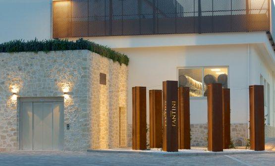 La sede di Fantini, una delle cantine di Farnese Group