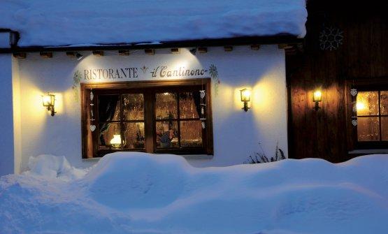 Il Cantinone sotto la neve