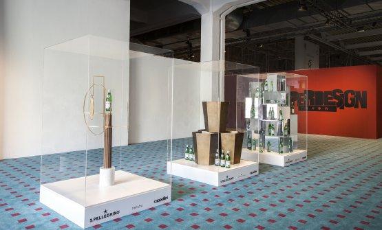 Durante la Milano Design Week nello spazio del Superdesign Show ci sarà l'installazione che espone le tre special edition create dai cinesiNeri&Hu, dall'americano Steven Haulenbeek e dal francese Philippe Nigro. Le bottiglie saranno esposta anche nello showroom Cappellini Point