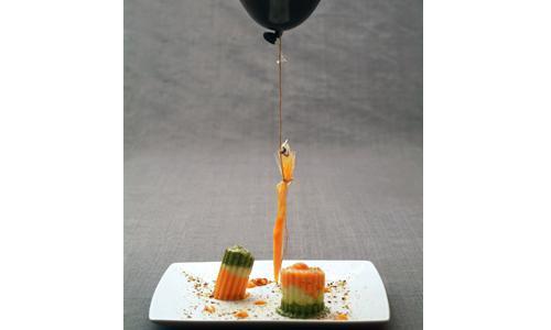 Pasta ed elio, piatto di Alfonso Caputo simbolo di Identità Milano 2008