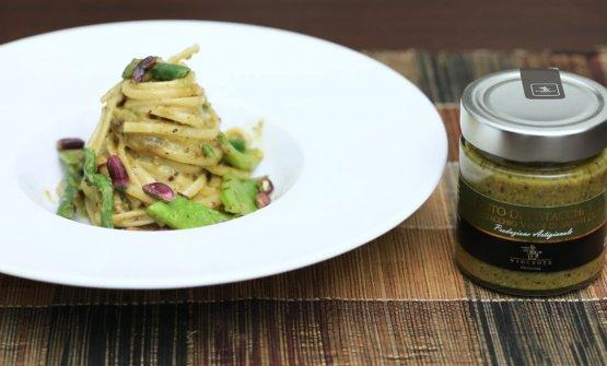 Il pistacchio nel mondo salato: Carbonara vegetariana al pistacchio...