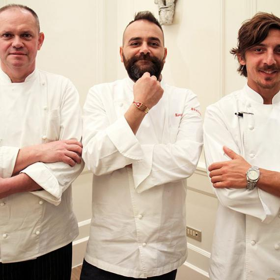 Fabrizio Tesse, Marco Miglioli e Ruggero Orlando