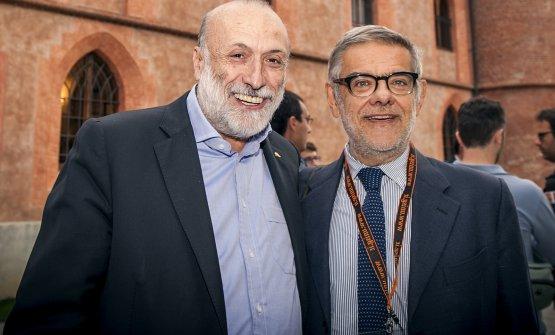 Petrini withGigi Padovani