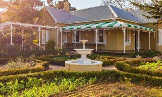Giorgio Nava ha aperto da poco l'ennesimo ristorante in Sudafrica: 95Parks a Constantia (fotoinsideguide.co.za)
