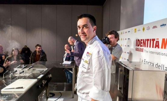 Paolo Casagrande, chef italiano di Lasarte a Barcellona, 3 stelle Michelin
