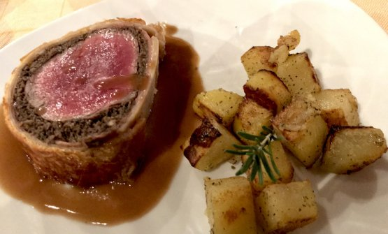 Filetto di manzo alla Wellington