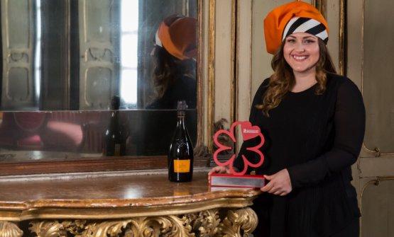 Caterina Ceraudo, premio Chef Donna per Michelin 2017, sarà tra le protagoniste di Identità di Champagne