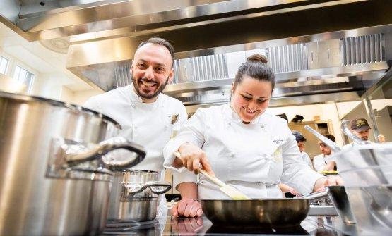 Con il resident chef di Identità Golose Milano, Alessandro Rinaldi