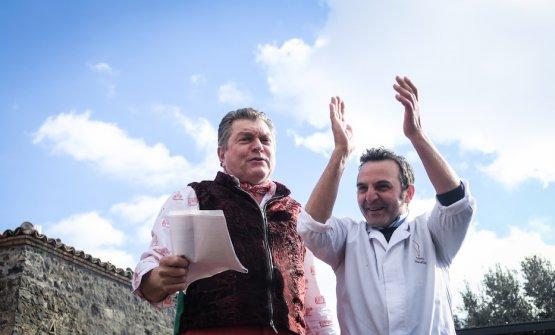 Con Giuseppe Indoratoda Adrano
