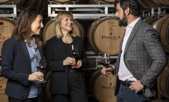 Cecilia Pasqua, Graziana Grassini e Riccardo Pasqu