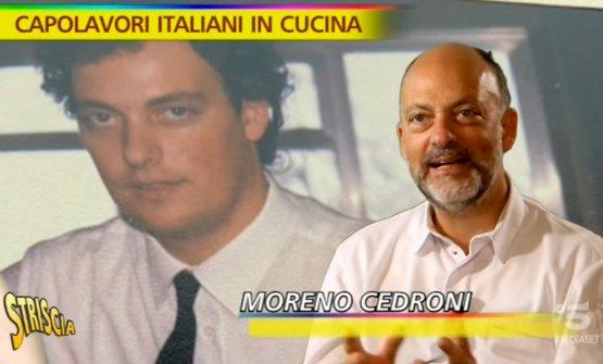 Moreno Cedroni ieri e oggi