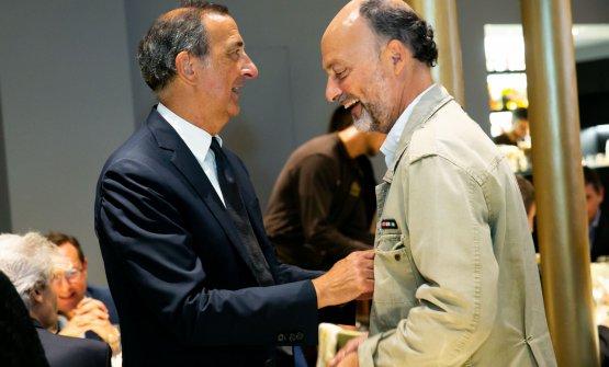 ...e con Moreno Cedroni, che sarà il primo ospite di Identità Golose Milano a fermarsi per quattro cene consecutive, dal 26 al 29 settembre