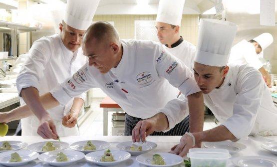 Lionello Cera, chef diAntica Osteria Cera aCampagna Lupia - Lughetto, orgoglio della cucina veneziana (foto www.steineggerpix.com /Remy Steinegger)