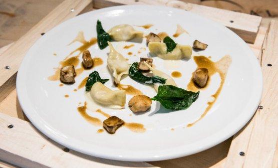 I Casoncelli di polenta e coniglio di Bobo Cerea
