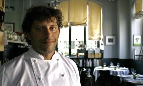 Un ritratto dello chef Cesare Battisti