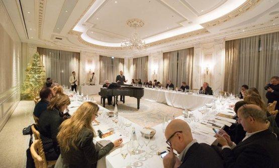 La degustazione del Bureau du Champagne è avvenuta a Palazzo Parigi a Milano
