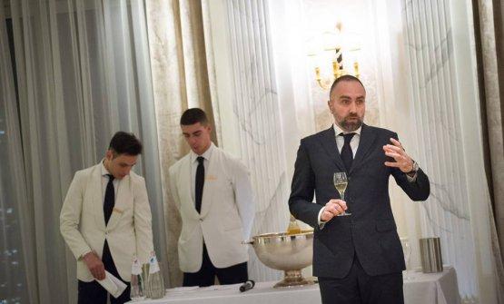 La degustazione è stata guidata da Marco Anichini, Ambasciatore italiano dello Champagne 2009