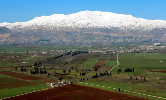 La Valle della Bekaa in Libano