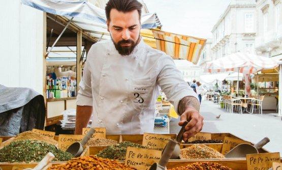 Vincenzo Di Falco, chef e patron del ristorante Ci