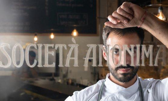 Lo chef della Società Anonima di Perugia