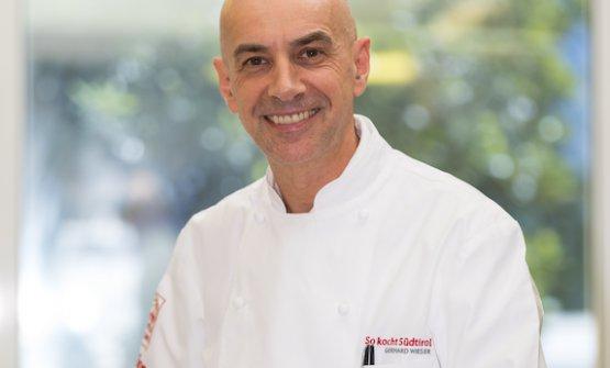 Lo chef Gerhard Wieser