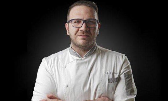 Agostino Iacobucci, campano, classe 1980, è chef
