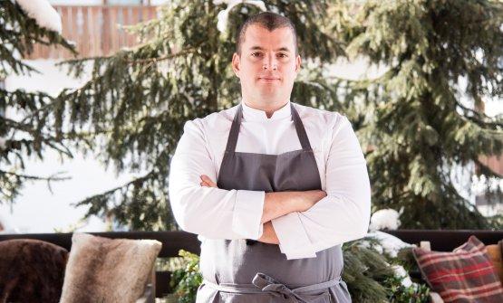 Lo chef Alessandro Martellini del ristorante Suinsom
