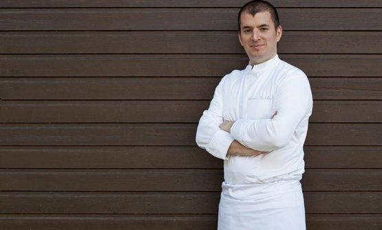 Lo chef Alessandro Martellini