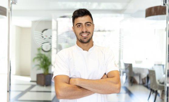 Lo chef Dario Pandolfo, promotore dell'iniziativa