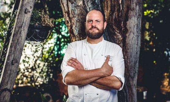 Errico Recanati, chef del ristorante Andreina